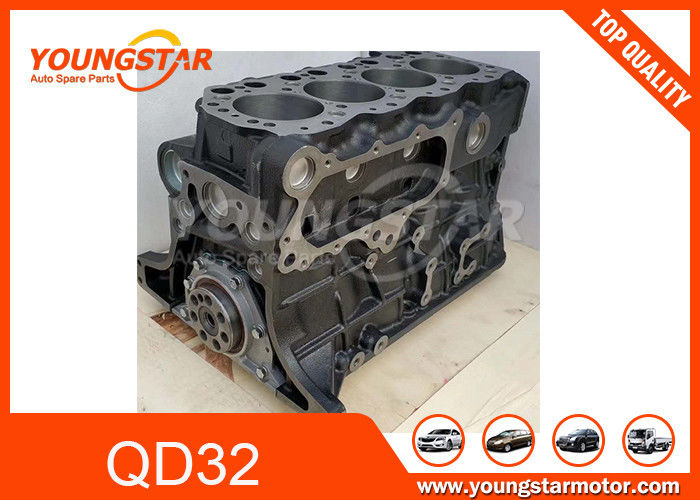 Engine Short Block Assy and Long Block Assy For Nissan / Forklifter Parts QD32 with Piston and Crankshaft